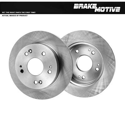 Rear 259 mm Quality Brake Rotors For Acura ILX Honda Civic Coupe Sedan Prelude