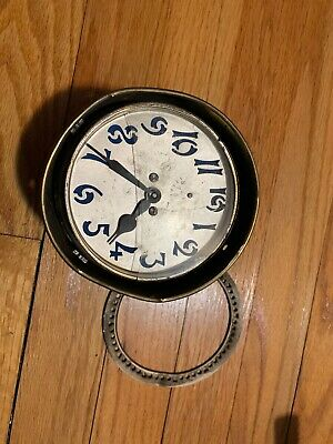 ANTIQUE & VINTAGE CLOCK MOVEMENT Parts Only ANSONIA Gilbert E INGRAHAM