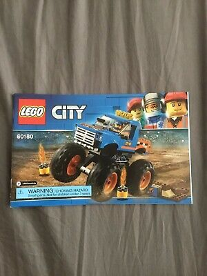 Lego 60180 City Monster Truck INSTRUCTIONS, MANUAL ONLY