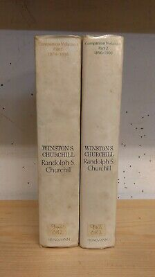 Winston S. Churchill by Randolph Churchill: Collection of 2 Volumes, 1967