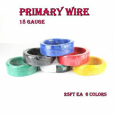 10 GAUGE WIRE 25FT RED 25 FT BLACK 10PCS COPPER 5//16 RING HEATSHRINK IB10
