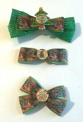 Handmade Hair Bows - Holiday - Christmas - Flintstones, Betty Boop   List #5