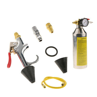 Car Air Conditioner Flush Tool A//C Line Canister Nozzle Metal Replacement Kit