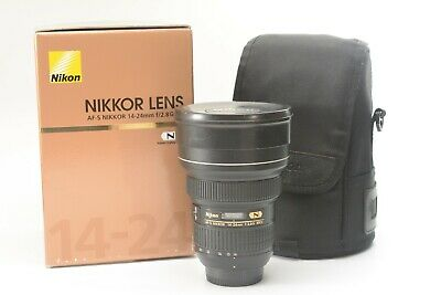 Nikon Nikkor AF-S 14-24 mm f/2.8G ED Wide-angle Zoom Lens ***Boxed with pouch***