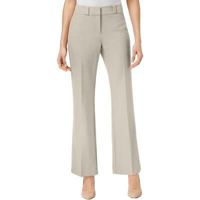 Alfani Womens Straight Leg Curvy Solid Dress Pants Trousers BHFO 0759