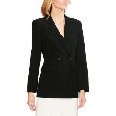 Vince Camuto Womens Parisian  Crepe Double-Breasted Jacket Blazer BHFO 2766