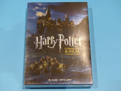 Harry Potter Complete 8-Film Collection Dvd New