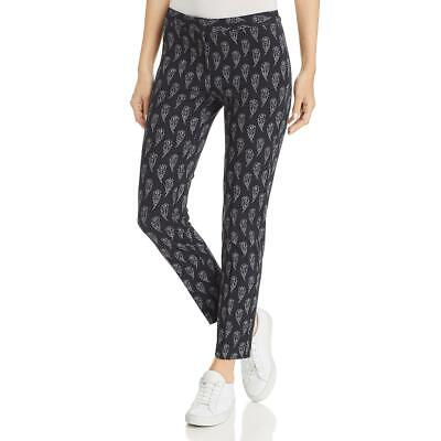 Le Gali Womens Fawn Printed Mid-Rise Business Straight Leg Pants BHFO 4906