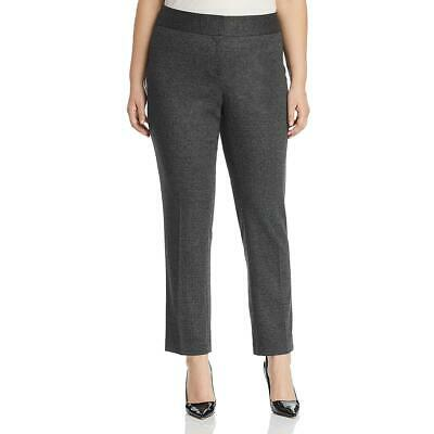 Vince Camuto Womens Black Herringbone Office Ankle Pants Trousers 18W BHFO 1585