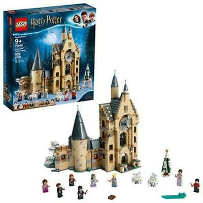 LEGO Harry Potter and The Goblet of Fire Hogwarts Clock Tower 75948 (922 Piece)