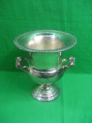 Vintage Sheridan Silverplate Champagne Wine Ice Bucket Chiller