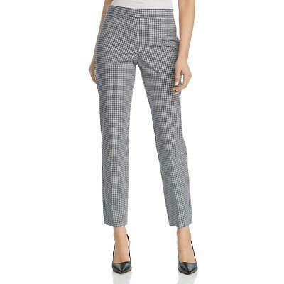 Donna Karan Womens Gingham Straight Office Pants BHFO 5721