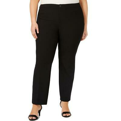 Charter Club Womens High-Rise Office Straight Leg Pants Trousers Plus BHFO 7065