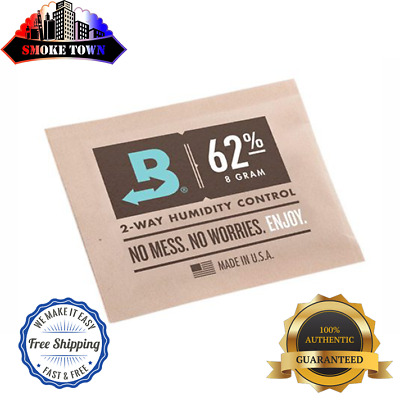 10-PACK BOVEDA RH 62% 8-GRAM Packets Humidity 2 Way Control Humidor + FREE SHIP!