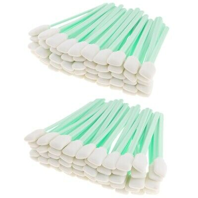 100pcs Foam Cleaning Swabs for Epson / Roland / Mimaki / Mutoh Inkjet Printer