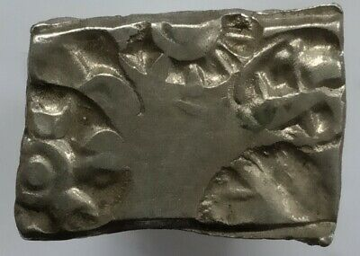 1 PIECE Ancient India Mayuriyan Dynasty punchmarked silver Karshapana B.C.E 500