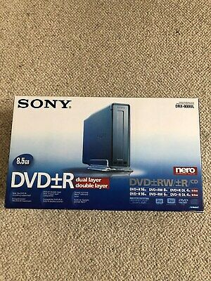 Sony Drx-800Ul Dvd-Rw Dual Layer External Drive – Excellent Condition