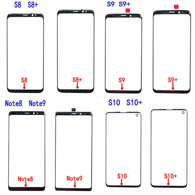 Touch Screen Digitizer Front Glass Replacement for Galaxy S8 S9 S10 Plus Note 10