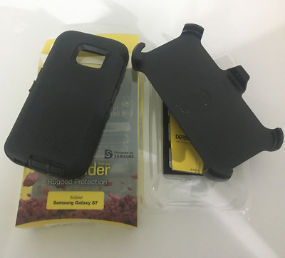NEW OtterBox DEFENDER SERIES Case for Samsung Galaxy S7 (BLACK) Cover SHIPS FAST