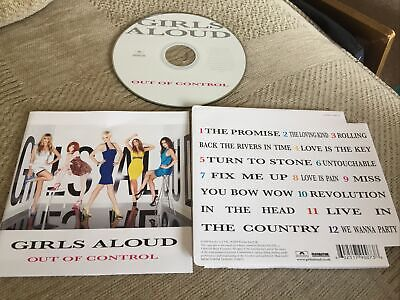 ! Girls Aloud - Out of Control  cd freepost in very good condition