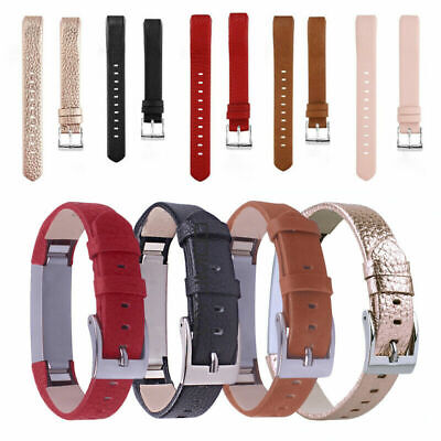 For Fitbit Alta/Alta HR Genuine Leather Watch Replacement Band Wrist Strap Belt