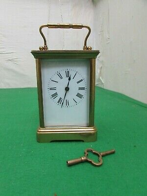 Late 19th Century Large Size French Carriage Clock, Fully Working
