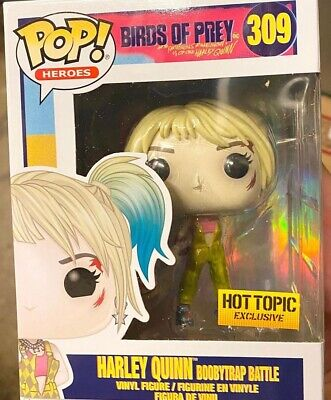 Funko Pop Birds Of Prey Boobytrap Battle Harley Quinn Hot Topic In Hand!