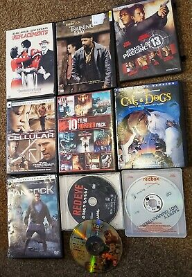 Action / Adventure DVD Lot Bundle (Toy Story 3, Training Day, Hancock, n more)