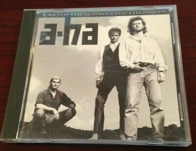 """A-HA CD """" East Of The Sun West Of The Moon """" WARNER BROS. 1990'"""