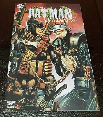 Batman Who Laughs #4 Unknown Mico Suayan Variant 9.4 NM
