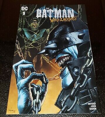 Batman Who Laughs #1 Unknown Mico Suayan Variant 1st Grim Knight 9.4 NM