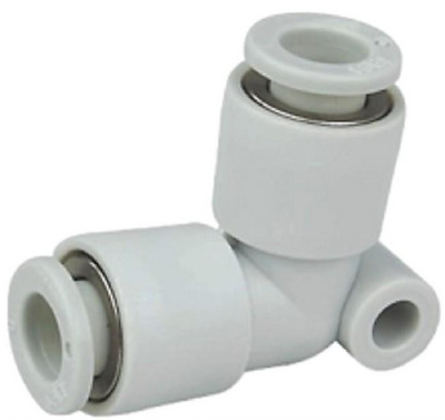 SMC KQ2L04-00 KQ2 Air Pneumatic Fitting, Union Elbow, 4mm Tube, Pack of 10