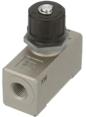 """SMC AS4000-03 Air Pneumatic Speed Flow Control Fitting, 3/8"""" Ports, 1 Unit"""