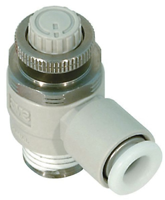 SMC Corporation AS2211F-02-08S Air Pneumatic Speed Flow Control Fitting, 1 Unit