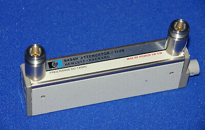 Hewlett Packard 8494H Coaxial Step Attenuator (Opt 001)