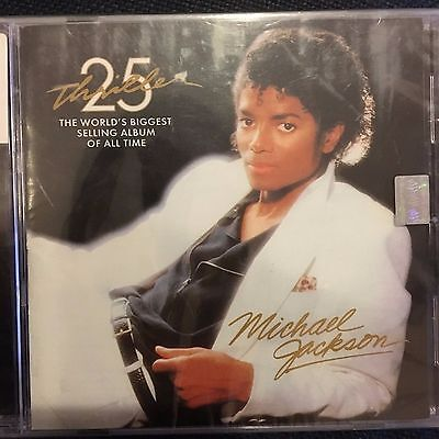 Michael Jackson Chile made cd brand new sealed Thriller 25th Anniversary