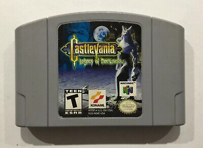Castlevania Legacy Of Darkness N64 Nintendo 64 Cart only Cleaned Tested working