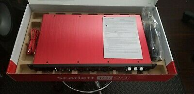 Focusrite Scarlett 18i20 2nd Generation USB Audo Interface - Open Box