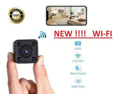 Mini Telecamera Spia Micro Camera IP Nascosta  Spy Cam HD Wireless TOP NEW WI-FI