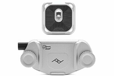 Peak Design Capture Camera Clip V3 (with Plate) Silver