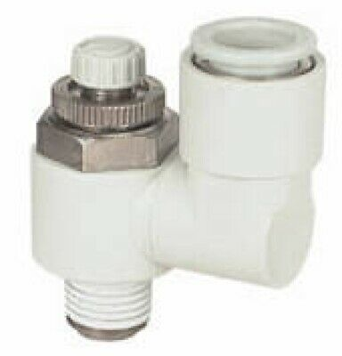 SMC Corporation AS3301F-03-08S Air Pneumatic Speed Flow Control Fitting, 1 Unit