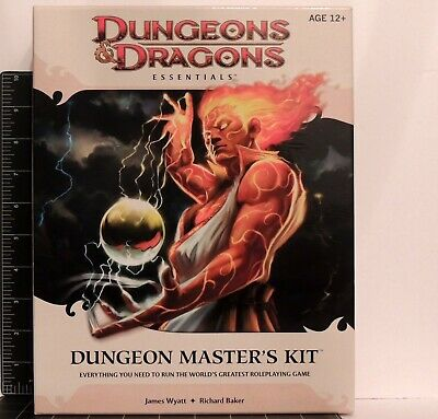 Dungeons & Dragons Essentials Dungeons Master's Kit Complete unused D&D RPG