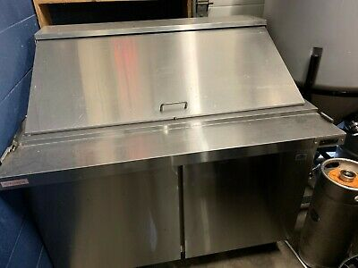 Alamo 48 inch Commercial Refrigerated Sandwich Prep Table