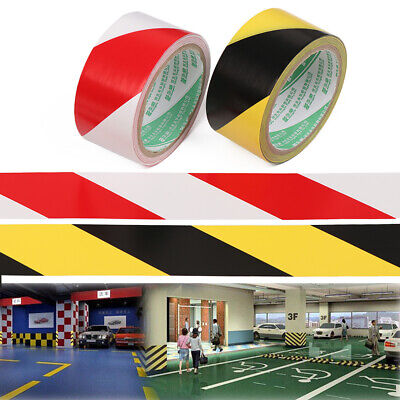 Safety Marking Tape Hazard Warning Strips Danger Caution Sticker Barrier Remind
