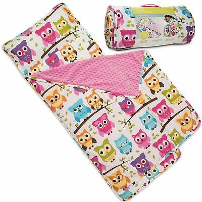 Kids Soft, Lightweight Daycare Nap Mat with Removable Pillow
