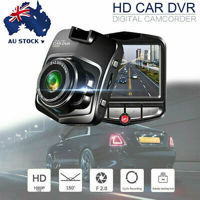 Mini 1080P HD LCD Car Dash Camera Video DVR Cam Recorder Night Vision + G-sensor