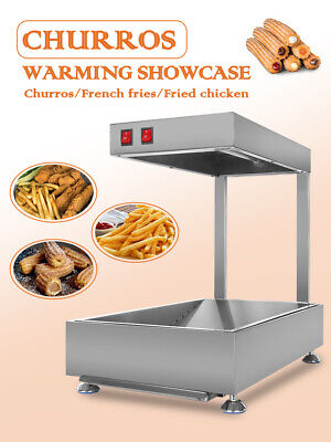 Electric Churros Warming Showcase Machine Tabletop Concession ITOP 0.31kw