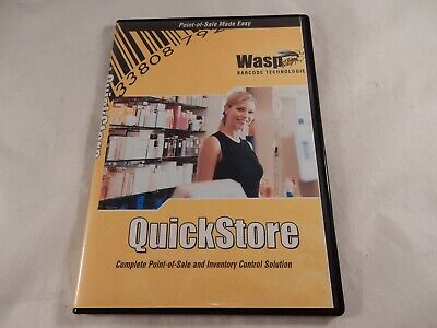 WASP Quickstore POS Software Upgrade from Standard to Professional (#F719)