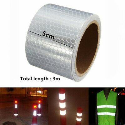 Car Sticker Night Safety Reflective Strips Self-adhesive Arrow Tape Strip