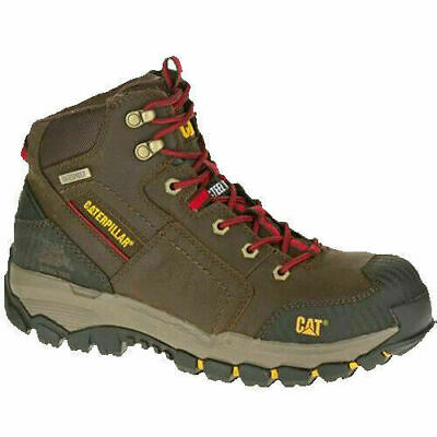 Caterpillar CAT Structure Mid S3 SRA brown safety boot /& midsole size 6-12